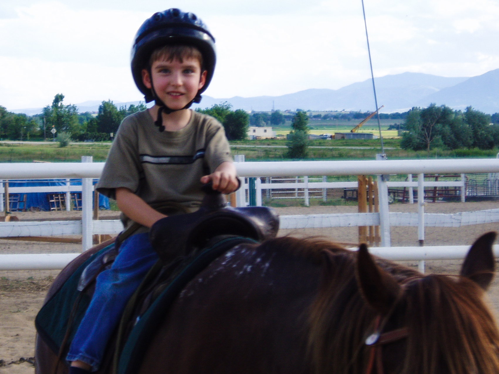 Young Horse Rider - Birthday Party
